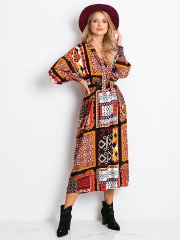 Kolorowa sukienka Kassidy
