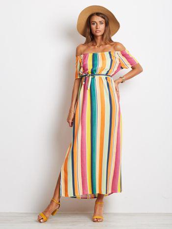 Kolorowa sukienka Rainbow