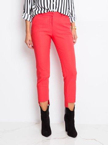 Koralowe spodnie Dynamo