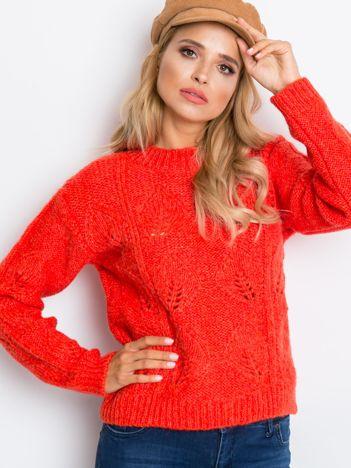 Koralowy sweter Tampa