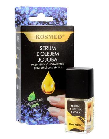 """Kosmed Serum z olejem jojoba do paznokci i skórek - regeneracja i nawilżenie  9ml"""""""