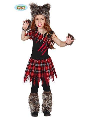 Kostium na bal dla dziewczynki Wilczyca