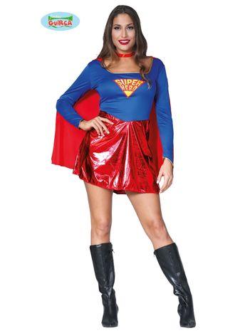 Kostium na imprezę Superbohaterka