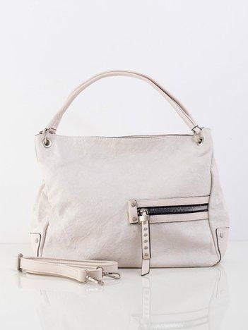 Kremowa damska torebka