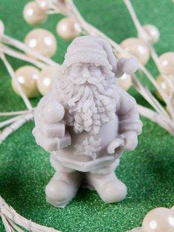 LAQ Mydełko Św. Mikołaj z prezentami - szary / Zapach - zielona herbata