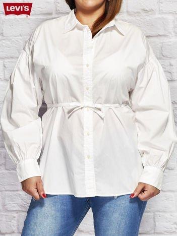 LEVIS Biała koszula z wiązaniem PLUS SIZE