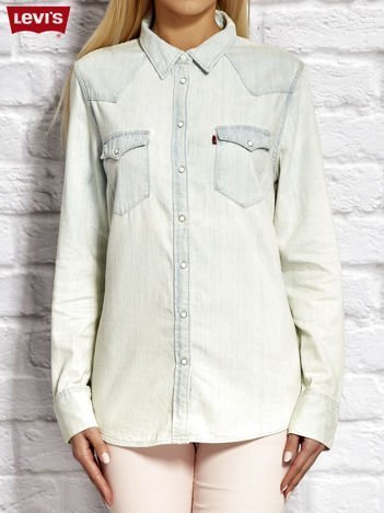 LEVIS Jasnoniebieska jeansowa koszula