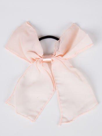 LOLITA Gumki do włosów różowa kokarda duża komplet 2 szt.