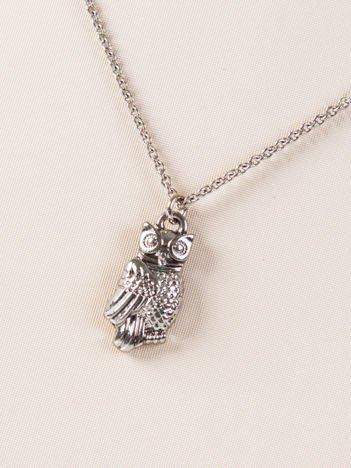 LOLITA Naszyjnik srebrny z zawieszką OWL