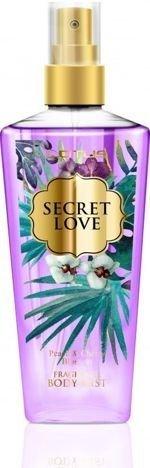 LOTUS Perfumowana Mgiełka do ciała BODY MIST SECRET LOVE Peach & Cherry Blossom 210 ml
