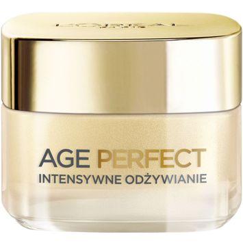 L'Oréal Age Perfect 60+ krem intensywnie odżywiający na dzień skóra dojrzała i nieodżywiona 50 ml