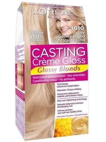 L'Oréal Casting Creme Gloss farba do włosów 1010 Jasny Lodowy Blond