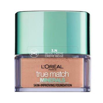 L'Oreal True Match Minerals Skin-Improving Foundation puder mineralny 3.N Creme Beige 10 g