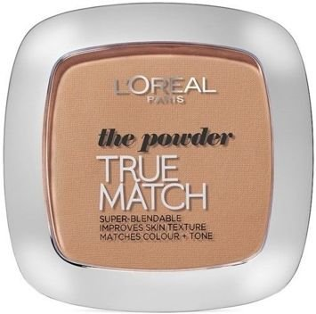 L'Oreal True Match Powder puder matujący nr W3 golden beige 57 g