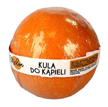 """LaQ Kula musująca do kąpieli Melon - pomarańczowa  100g"""""""