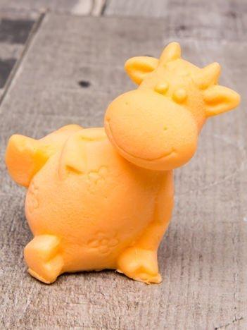 LaQ Mydełko pomarańczowe Uśmiechnięta krówka bez SLS i SLES