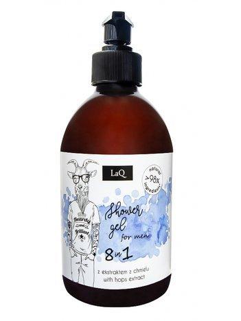 LaQ Żel pod prysznic dla facetów 8w1