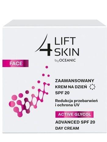 Lift 4 Skin by Oceanic Active Glycol Zaawansowany Krem na dzień redukcja przebarwień SPF 20 50 ml