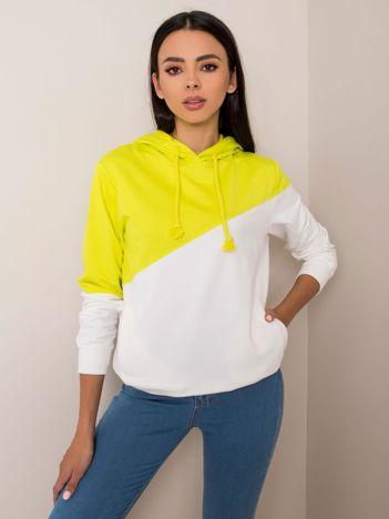 Limonkowa bluza Ness