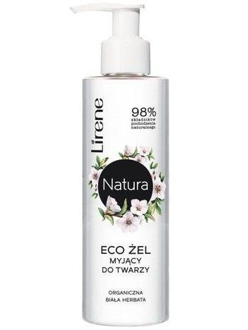 Lirene NATURA ECO Żel myjący do twarzy organiczna biała herbata 150 ml