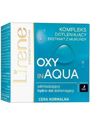 Lirene Oxy in Aqua Odmładzający hydro-żel dotleniający na noc każdy typ cery 50 ml