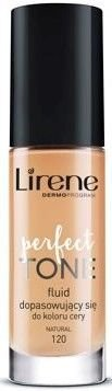 Lirene Perfect Tone fluid dopasowujący się NATURAL 120 30 ml