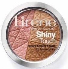 Lirene Shiny Touch Mineralny bronzer z różem 9 gr