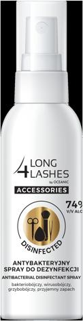 """Long 4 Lashes Accessosories Antybakteryjny spray do dezynfekcji akcesoriów kosmetycznych 50ml"""""""