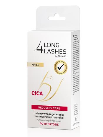 Long 4 Lashes Nails Serum regenerująco-wzmacniające do paznokci po hybrydzie 10 ml