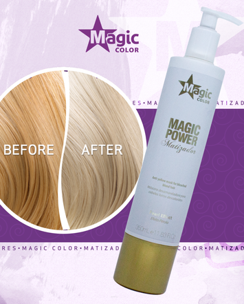 MAGIC COLOR Profesjonalna MASKA TONUJĄCA PEARL EFFECT 350 ml
