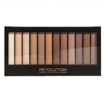 MAKEUP REVOLUTION Paleta 12 cieni Essential Shimmers 14 g