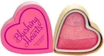 MAKEUP REVOLUTION Wypiekany róż Triple Baked Blusher Blushing Hearts Blushing Heart 10g
