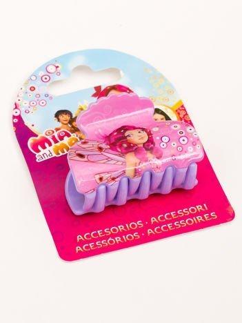 MIA i JA  Spinka-klamra do włosów dla dziewczynki różowo-fioletowa