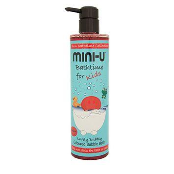 MINI-U Płyn do kąpieli z bąbelkami czerwony 500 ml