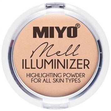 MIYO Illuminizer Puder rozświetlający 01 MELL 9 g