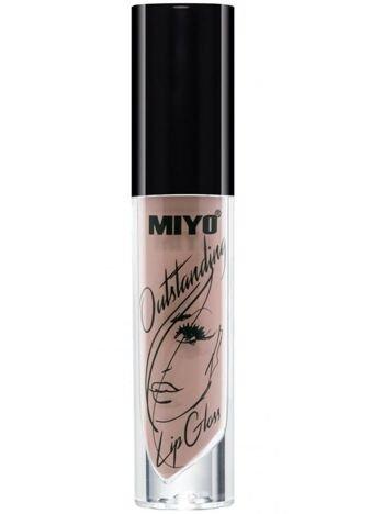 MIYO Outstanding Lip Gloss Błyszczyk Nude 20 ITSY-BITSY 4 ml