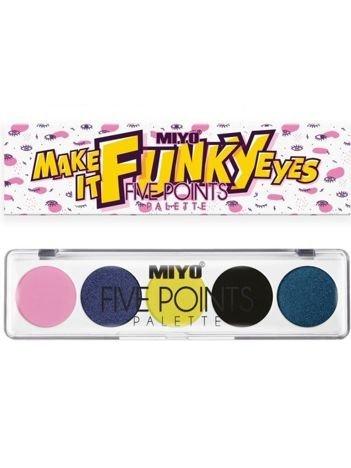 MIYO Paleta 5 cieni FIVE POINTS PALETTE Color Box Edition no.26 6,5 g