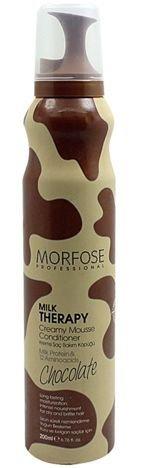 MORFOSE MILK THERAPY ODŻYWKA W PIANCE czekoladowa nawilżająco-ochronna 200 ml