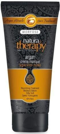MORFOSE Natura Therapy ARGANOWA MASKA KREMOWA odżywczo-wygładzająca 170 ml