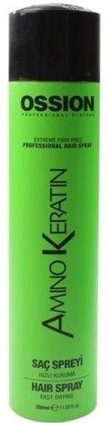 MORFOSE OSSION AminoKeratin LAKIER DO WŁOSÓW keratynowy wzmacniający 350 ml