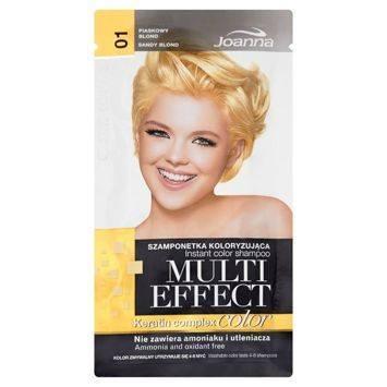 MULTI EFFECT color Keratin complex Szamponetka koloryzująca Piaskowy blond  /01/