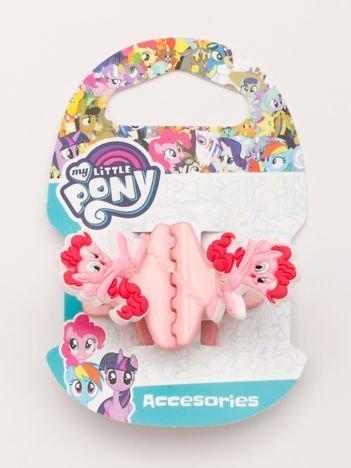 MY LITTLE PONY Zestaw 2 szt. jasnoróżowych klamerek do włosów dla dziewczynki