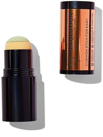 Makeup Revolution Cushion Corrector Korektor w poduszeczce Green 2,8 g