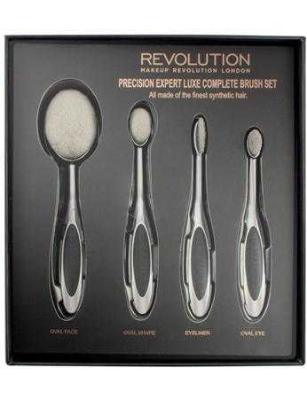 Makeup Revolution Precision Expert Luxe Complete Brush Set Zestaw szczotek do makijażu (4szt)