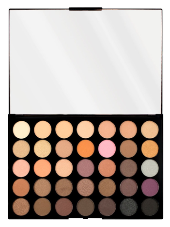 Makeup Revolution Pro HD Amplified 35 Palette Cienie do powiek Neutrals Warm 30g (35 kolorów)