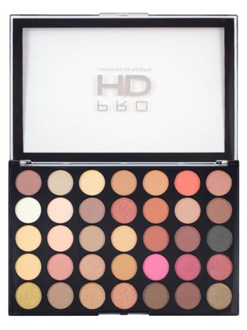 Makeup Revolution Pro HD Amplified 35 Palette Cienie do powiek Socialite 30g (35 kolorów)