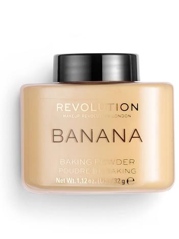 Makeup Revolution Puder sypki Loose Baking Powder Banana 32 g
