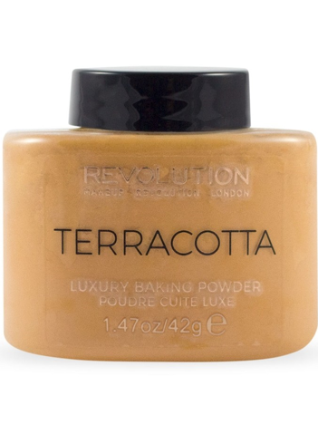 Makeup Revolution Puder sypki Terracotta Baking Powder 42 g