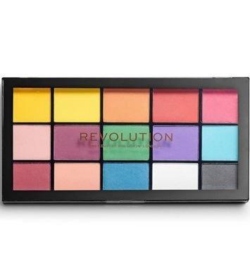 Makeup Revolution Re-Loaded Paleta cieni do powiek Marvellous Mattes 16,5 g