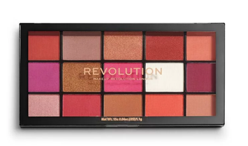 Makeup Revolution Re-Loaded Paleta cieni do powiek Red Alert 16,5 g